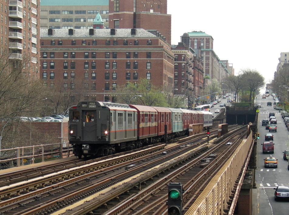 (134k, 951x709)<br><b>Country:</b> United States<br><b>City:</b> New York<br><b>System:</b> New York City Transit<br><b>Line:</b> IRT West Side Line<br><b>Location:</b> 125th Street<br><b>Route:</b> Fan Trip<br><b>Car:</b> R-12 (American Car & Foundry, 1948) 5760 <br><b>Photo by:</b> David of Broadway<br><b>Date:</b> 4/18/2004<br><b>Viewed (this week/total):</b> 2 / 4160