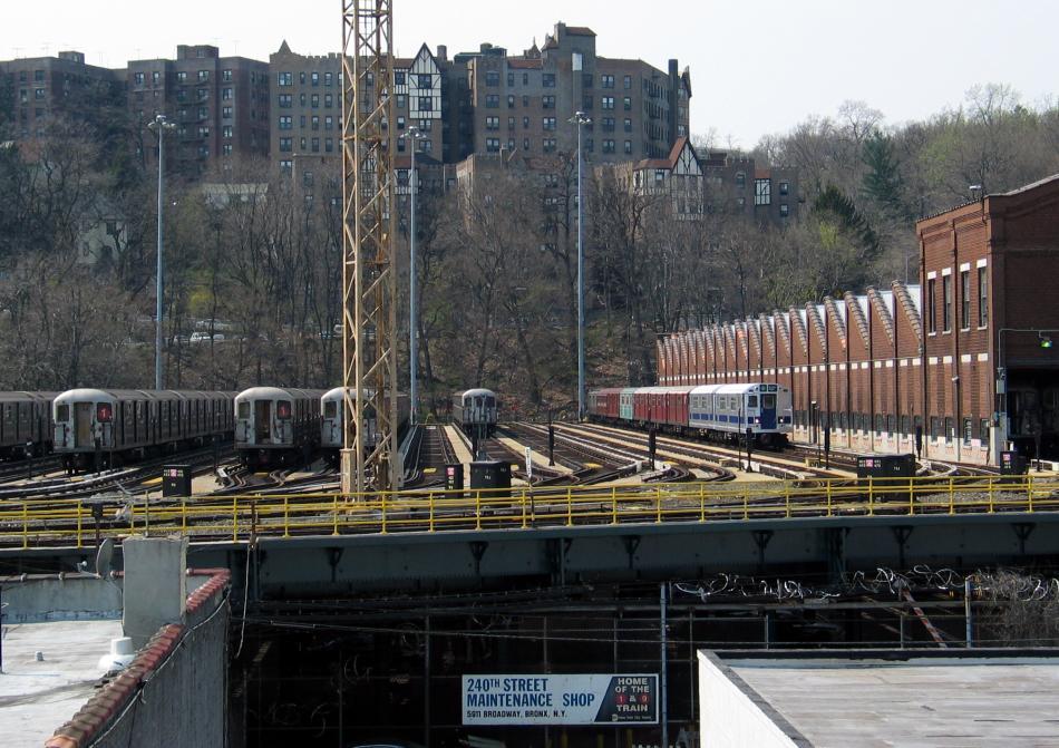 (116k, 950x671)<br><b>Country:</b> United States<br><b>City:</b> New York<br><b>System:</b> New York City Transit<br><b>Location:</b> 240th Street Yard<br><b>Photo by:</b> David of Broadway<br><b>Date:</b> 4/18/2004<br><b>Viewed (this week/total):</b> 3 / 7613