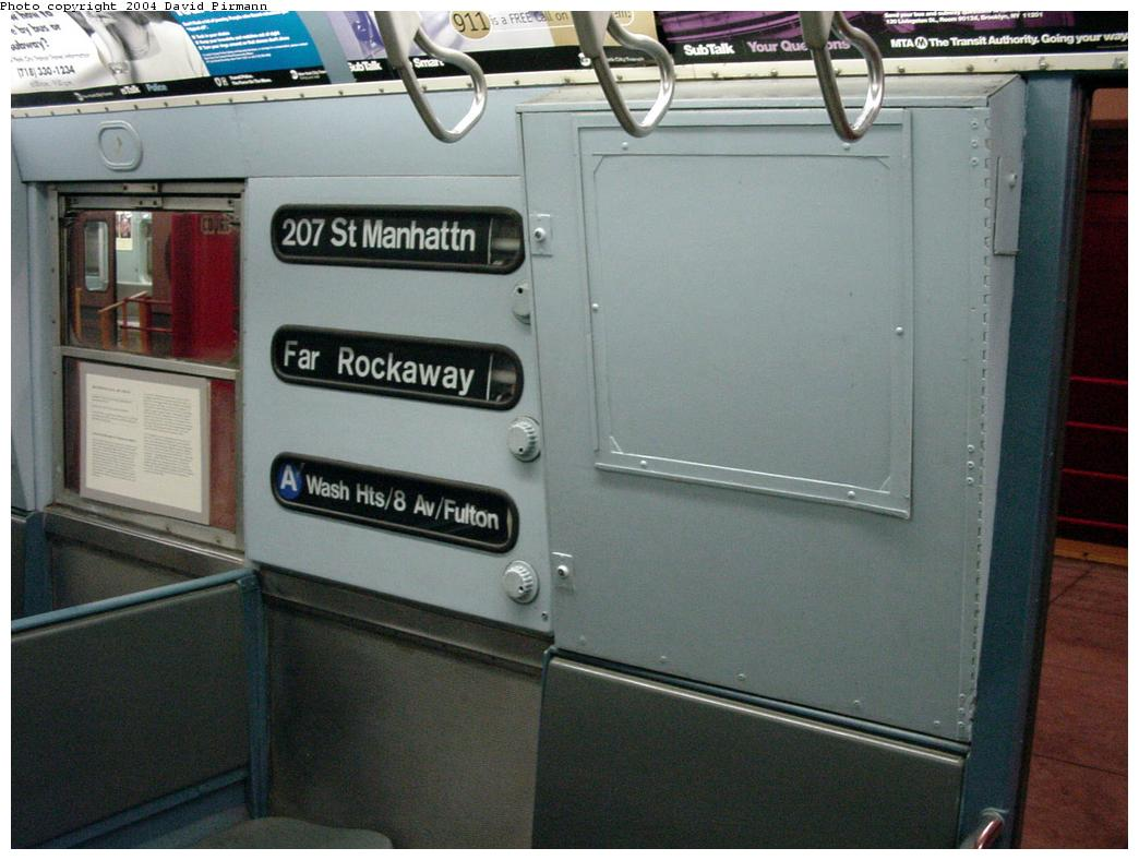 (110k, 1044x788)<br><b>Country:</b> United States<br><b>City:</b> New York<br><b>System:</b> New York City Transit<br><b>Location:</b> New York Transit Museum<br><b>Car:</b> R-16 (American Car & Foundry, 1955) 6387 <br><b>Photo by:</b> David Pirmann<br><b>Date:</b> 3/12/2000<br><b>Viewed (this week/total):</b> 7 / 20554