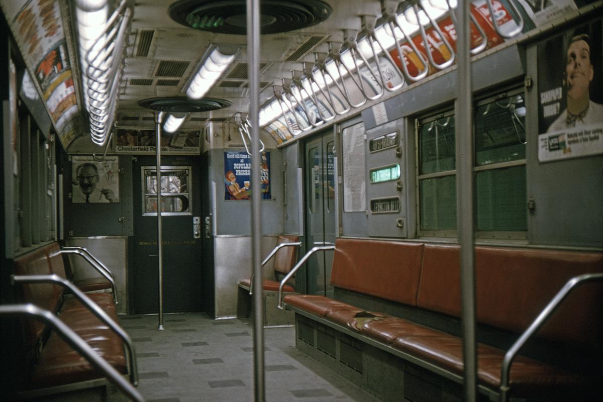 (422k, 1200x800)<br><b>Country:</b> United States<br><b>City:</b> New York<br><b>System:</b> New York City Transit<br><b>Route:</b> 4<br><b>Car:</b> R-22 (St. Louis, 1957-58) 7417 <br><b>Collection of:</b> David Pirmann<br><b>Date:</b> 2/1/1965<br><b>Viewed (this week/total):</b> 10 / 14321