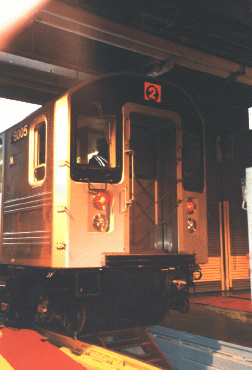 (64k, 506x742)<br><b>Country:</b> United States<br><b>City:</b> New York<br><b>System:</b> New York City Transit<br><b>Location:</b> 239th Street Shop<br><b>Car:</b> R-110A (Kawasaki, 1992) 8005 <br><b>Photo by:</b> Steve Kreisler<br><b>Date:</b> 1997<br><b>Viewed (this week/total):</b> 1 / 9260