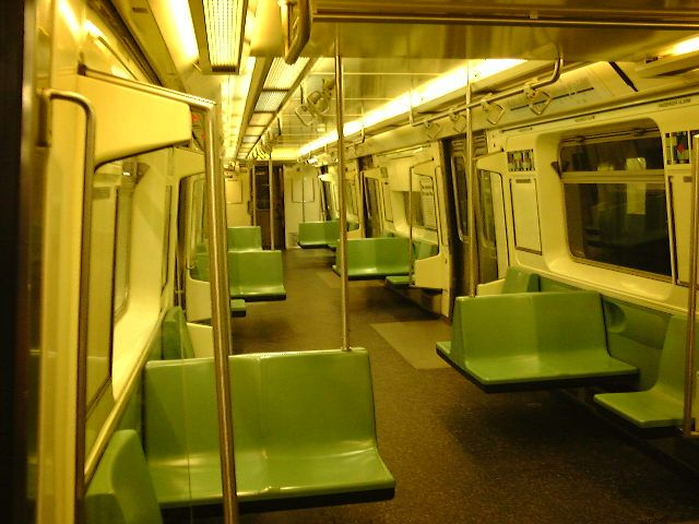 (67k, 640x480)<br><b>Country:</b> United States<br><b>City:</b> New York<br><b>System:</b> New York City Transit<br><b>Car:</b> R-110B (Bombardier, 1992) Interior <br><b>Photo by:</b> Trevor Logan<br><b>Date:</b> 9/2000<br><b>Viewed (this week/total):</b> 5 / 22836