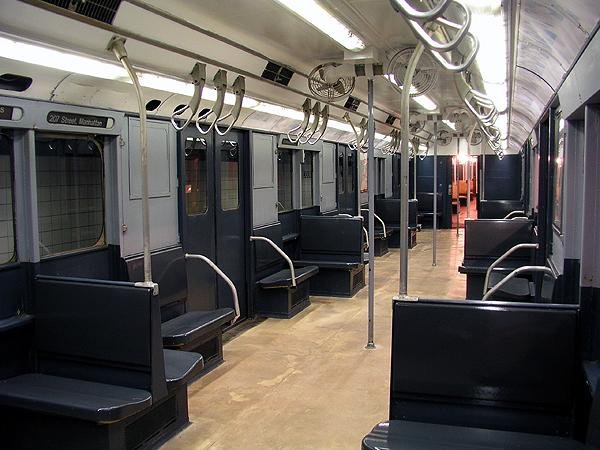 (70k, 600x450)<br><b>Country:</b> United States<br><b>City:</b> New York<br><b>System:</b> New York City Transit<br><b>Location:</b> New York Transit Museum<br><b>Car:</b> R-10 (American Car & Foundry, 1948) 3184 <br><b>Photo by:</b> Trevor Logan<br><b>Date:</b> 5/16/2004<br><b>Viewed (this week/total):</b> 26 / 24222