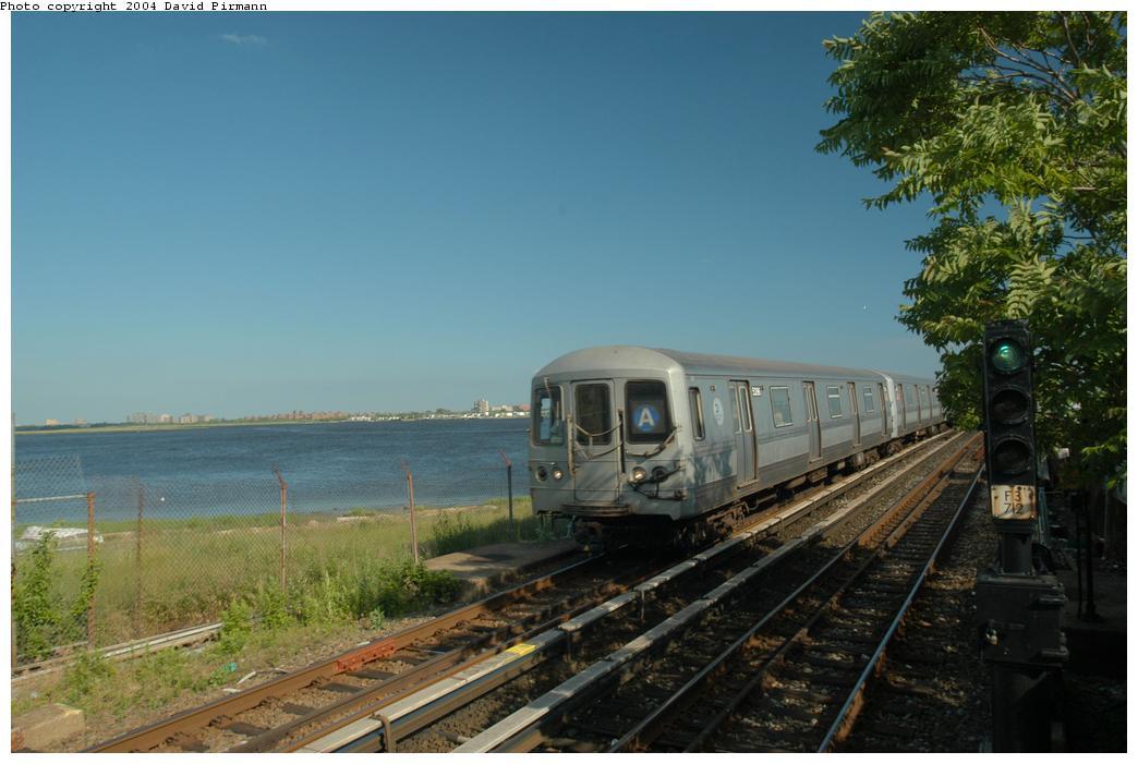 (146k, 1044x701)<br><b>Country:</b> United States<br><b>City:</b> New York<br><b>System:</b> New York City Transit<br><b>Line:</b> IND Rockaway Line<br><b>Location:</b> Broad Channel<br><b>Route:</b> A<br><b>Car:</b> R-44 (St. Louis, 1971-73) 5286 <br><b>Photo by:</b> David Pirmann<br><b>Date:</b> 6/19/2004<br><b>Viewed (this week/total):</b> 2 / 3800