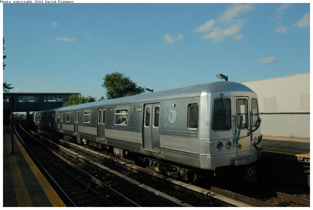 (116k, 1044x701)<br><b>Country:</b> United States<br><b>City:</b> New York<br><b>System:</b> New York City Transit<br><b>Line:</b> IND Rockaway Line<br><b>Location:</b> Broad Channel<br><b>Route:</b> S<br><b>Car:</b> R-44 (St. Louis, 1971-73) 5346 <br><b>Photo by:</b> David Pirmann<br><b>Date:</b> 6/19/2004<br><b>Viewed (this week/total):</b> 4 / 2844