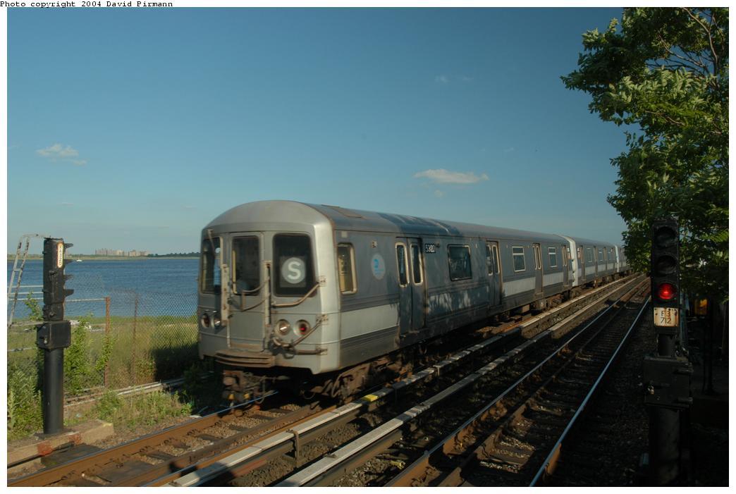 (141k, 1044x701)<br><b>Country:</b> United States<br><b>City:</b> New York<br><b>System:</b> New York City Transit<br><b>Line:</b> IND Rockaway Line<br><b>Location:</b> Broad Channel<br><b>Route:</b> S<br><b>Car:</b> R-44 (St. Louis, 1971-73) 5320 <br><b>Photo by:</b> David Pirmann<br><b>Date:</b> 6/19/2004<br><b>Viewed (this week/total):</b> 1 / 3424