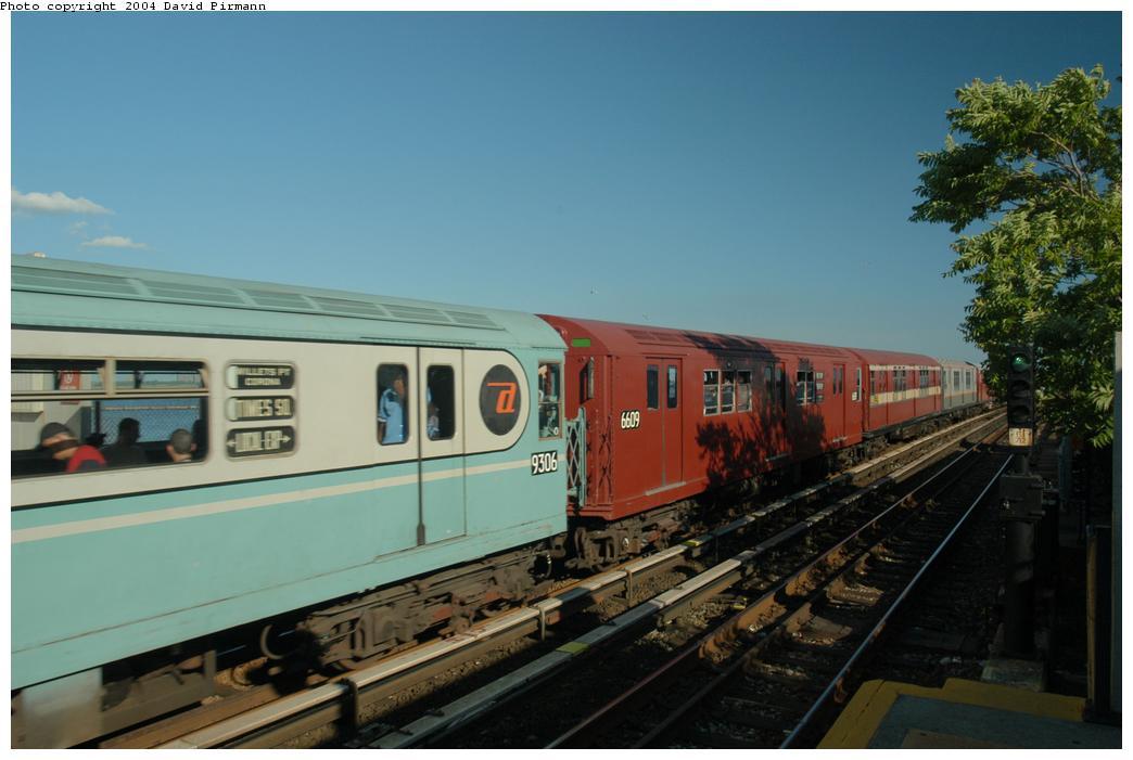 (135k, 1044x701)<br><b>Country:</b> United States<br><b>City:</b> New York<br><b>System:</b> New York City Transit<br><b>Line:</b> IND Rockaway Line<br><b>Location:</b> Broad Channel<br><b>Route:</b> Fan Trip<br><b>Car:</b> R-17 (St. Louis, 1955-56) 6609 <br><b>Photo by:</b> David Pirmann<br><b>Date:</b> 6/19/2004<br><b>Viewed (this week/total):</b> 2 / 2596