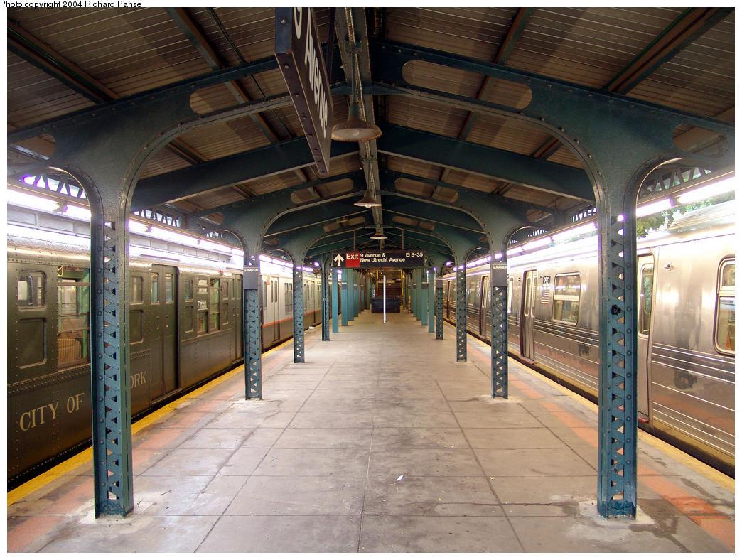 (197k, 1044x788)<br><b>Country:</b> United States<br><b>City:</b> New York<br><b>System:</b> New York City Transit<br><b>Line:</b> BMT West End Line<br><b>Location:</b> 9th Avenue<br><b>Photo by:</b> Richard Panse<br><b>Date:</b> 7/18/2004<br><b>Viewed (this week/total):</b> 1 / 3043