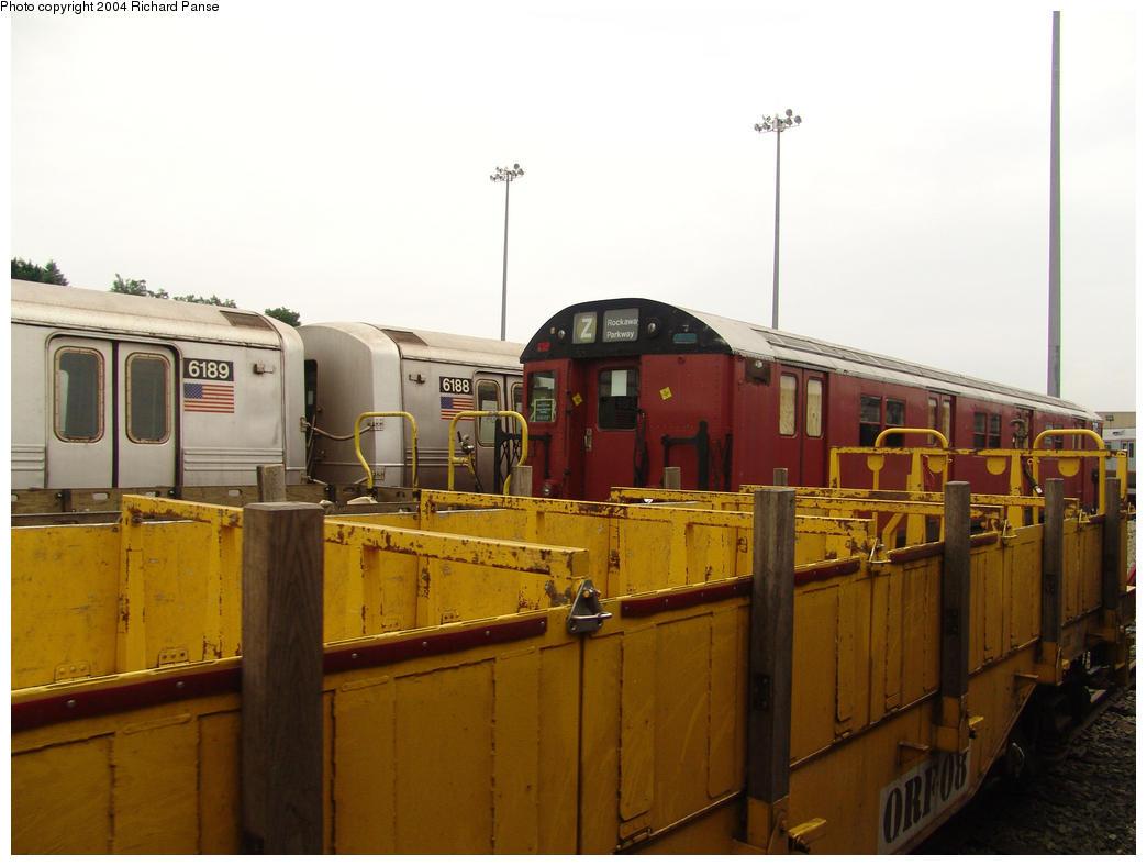 (126k, 1044x788)<br><b>Country:</b> United States<br><b>City:</b> New York<br><b>System:</b> New York City Transit<br><b>Location:</b> 36th Street Yard<br><b>Car:</b> R-30 (St. Louis, 1961) 8463 <br><b>Photo by:</b> Richard Panse<br><b>Date:</b> 7/18/2004<br><b>Viewed (this week/total):</b> 1 / 9299