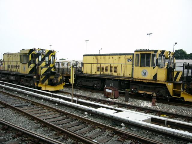 (157k, 640x480)<br><b>Country:</b> United States<br><b>City:</b> New York<br><b>System:</b> New York City Transit<br><b>Location:</b> 36th Street Yard<br><b>Car:</b> R-47 Locomotive 65 <br><b>Photo by:</b> Daniel DeAmicis<br><b>Date:</b> 7/18/2004<br><b>Viewed (this week/total):</b> 0 / 3279