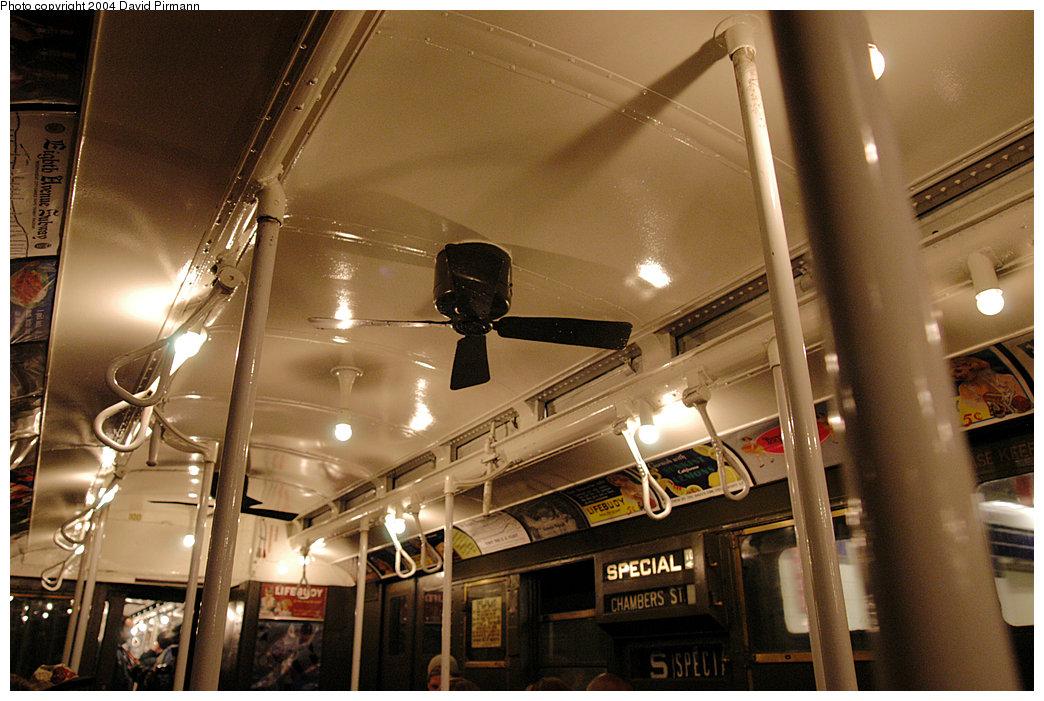 (261k, 1044x701)<br><b>Country:</b> United States<br><b>City:</b> New York<br><b>System:</b> New York City Transit<br><b>Route:</b> Fan Trip<br><b>Car:</b> R-1 (American Car & Foundry, 1930-1931) 100 <br><b>Photo by:</b> David Pirmann<br><b>Date:</b> 11/6/2004<br><b>Viewed (this week/total):</b> 0 / 3012