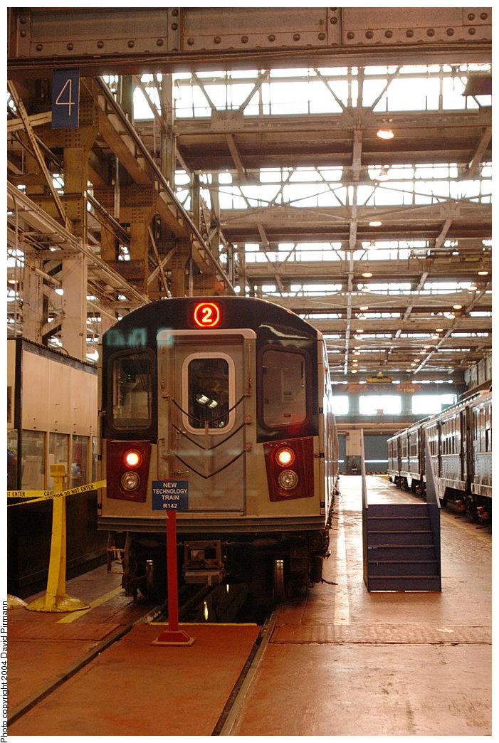 (291k, 701x1044)<br><b>Country:</b> United States<br><b>City:</b> New York<br><b>System:</b> New York City Transit<br><b>Location:</b> 207th Street Shop<br><b>Car:</b> R-142 (Option Order, Bombardier, 2002-2003) 1131 <br><b>Photo by:</b> David Pirmann<br><b>Date:</b> 11/6/2004<br><b>Viewed (this week/total):</b> 0 / 6011