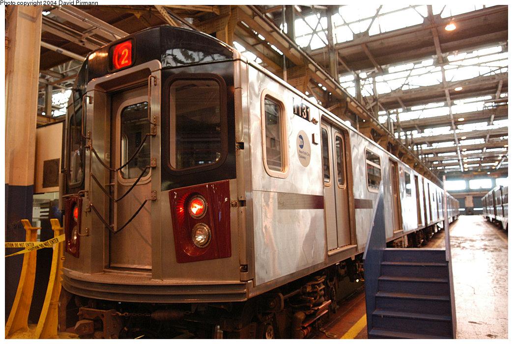(265k, 1044x701)<br><b>Country:</b> United States<br><b>City:</b> New York<br><b>System:</b> New York City Transit<br><b>Location:</b> 207th Street Shop<br><b>Car:</b> R-142 (Option Order, Bombardier, 2002-2003) 1131 <br><b>Photo by:</b> David Pirmann<br><b>Date:</b> 11/6/2004<br><b>Viewed (this week/total):</b> 0 / 5756