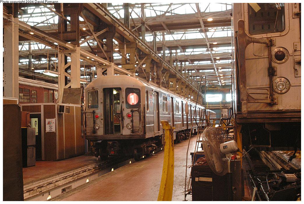 (298k, 1044x701)<br><b>Country:</b> United States<br><b>City:</b> New York<br><b>System:</b> New York City Transit<br><b>Location:</b> 207th Street Shop<br><b>Car:</b> R-62A (Bombardier, 1984-1987) 2395 <br><b>Photo by:</b> David Pirmann<br><b>Date:</b> 11/6/2004<br><b>Viewed (this week/total):</b> 1 / 4109