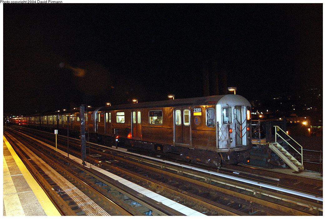 (289k, 1044x701)<br><b>Country:</b> United States<br><b>City:</b> New York<br><b>System:</b> New York City Transit<br><b>Line:</b> IRT West Side Line<br><b>Location:</b> 215th Street<br><b>Route:</b> 1<br><b>Car:</b> R-62A (Bombardier, 1984-1987) 2320 <br><b>Photo by:</b> David Pirmann<br><b>Date:</b> 11/6/2004<br><b>Viewed (this week/total):</b> 0 / 3651