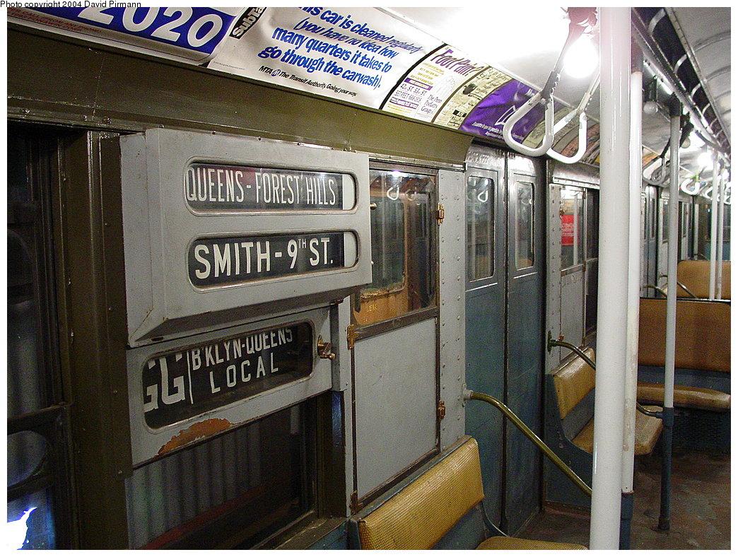 (256k, 1044x788)<br><b>Country:</b> United States<br><b>City:</b> East Haven/Branford, Ct.<br><b>System:</b> Shore Line Trolley Museum<br><b>Car:</b> R-9 (American Car & Foundry, 1940) 1689 <br><b>Photo by:</b> David Pirmann<br><b>Date:</b> 11/14/2004<br><b>Viewed (this week/total):</b> 2 / 4474