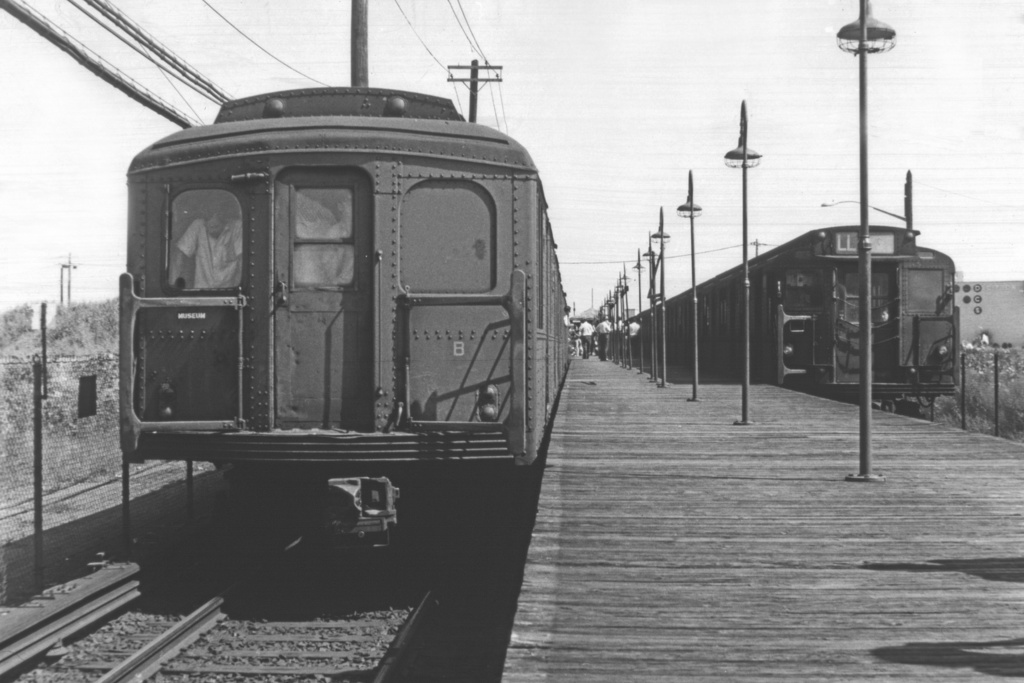 (211k, 1024x683)<br><b>Country:</b> United States<br><b>City:</b> New York<br><b>System:</b> New York City Transit<br><b>Line:</b> BMT Canarsie Line<br><b>Location:</b> East 105th Street<br><b>Route:</b> Fan Trip<br><b>Car:</b> BMT A/B-Type Standard 2392 <br><b>Photo by:</b> Doug Grotjahn<br><b>Collection of:</b> David Pirmann<br><b>Date:</b> 8/23/1969<br><b>Viewed (this week/total):</b> 1 / 3950