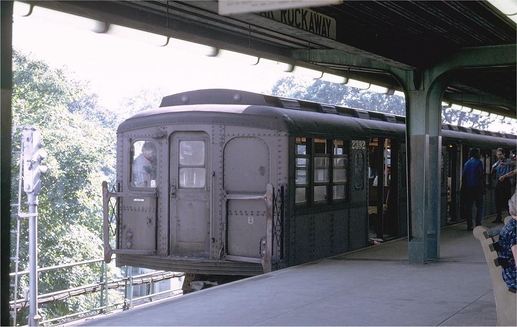 (207k, 1024x647)<br><b>Country:</b> United States<br><b>City:</b> New York<br><b>System:</b> New York City Transit<br><b>Line:</b> IND Rockaway Line<br><b>Location:</b> Mott Avenue/Far Rockaway<br><b>Route:</b> Fan Trip<br><b>Car:</b> BMT A/B-Type Standard 2392 <br><b>Photo by:</b> Joe Testagrose<br><b>Date:</b> 8/23/1969<br><b>Viewed (this week/total):</b> 2 / 3185