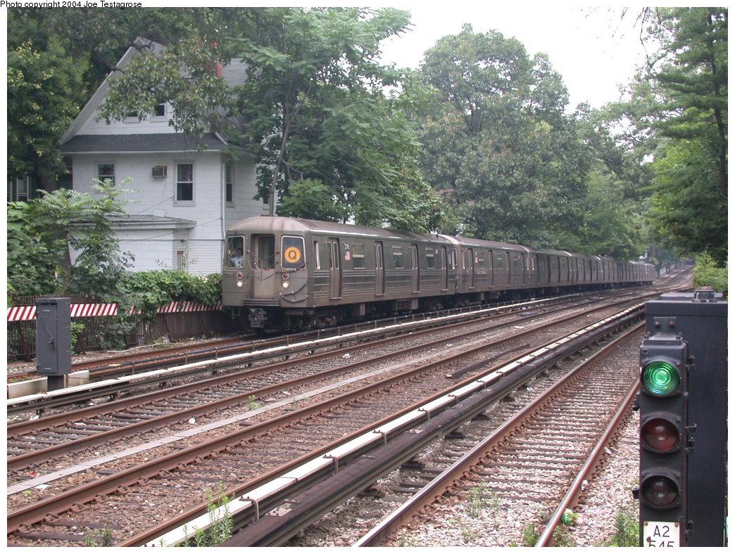 (300k, 1044x788)<br><b>Country:</b> United States<br><b>City:</b> New York<br><b>System:</b> New York City Transit<br><b>Line:</b> BMT Brighton Line<br><b>Location:</b> Avenue H<br><b>Route:</b> Q<br><b>Car:</b> R-68 (Westinghouse-Amrail, 1986-1988) 2778 <br><b>Photo by:</b> Joe Testagrose<br><b>Date:</b> 7/18/2004<br><b>Viewed (this week/total):</b> 2 / 3694