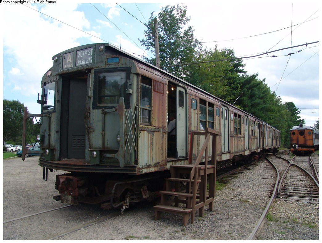 (235k, 1044x788)<br><b>Country:</b> United States<br><b>City:</b> Kennebunk, ME<br><b>System:</b> Seashore Trolley Museum<br><b>Car:</b> R-7 (American Car & Foundry, 1937) 1440 <br><b>Photo by:</b> Richard Panse<br><b>Date:</b> 9/4/2004<br><b>Viewed (this week/total):</b> 1 / 4682
