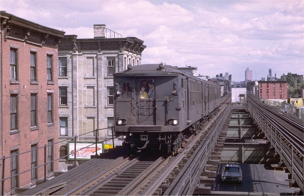 (225k, 1024x660)<br><b>Country:</b> United States<br><b>City:</b> New York<br><b>System:</b> New York City Transit<br><b>Line:</b> BMT Myrtle Avenue Line<br><b>Location:</b> Washington Avenue<br><b>Route:</b> MJ<br><b>Car:</b> BMT Q  <br><b>Photo by:</b> Joe Testagrose<br><b>Date:</b> 9/20/1969<br><b>Viewed (this week/total):</b> 0 / 5960