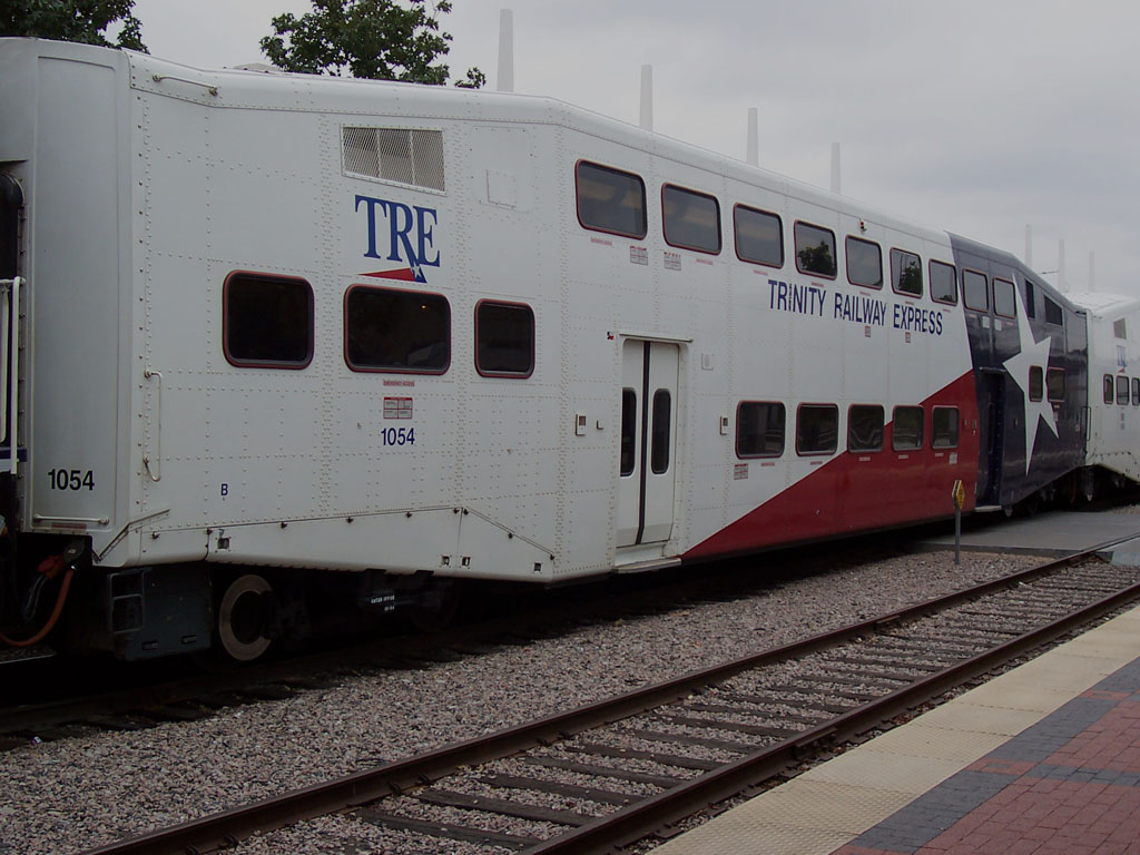(169k, 1024x768)<br><b>Country:</b> United States<br><b>City:</b> Dallas, TX<br><b>System:</b> Trinity Railway Express<br><b>Location:</b> Union Station<br><b>Car:</b>  1054 <br><b>Photo by:</b> Adam Moreira<br><b>Date:</b> 11/12/2004<br><b>Viewed (this week/total):</b> 2 / 2668