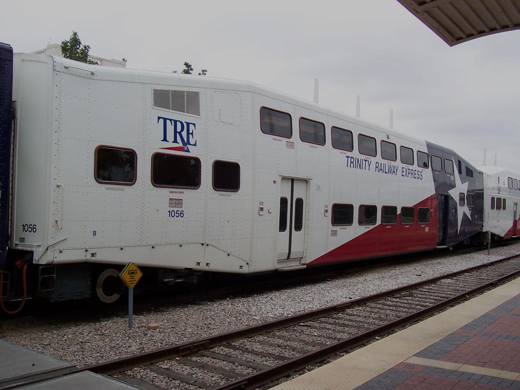 (156k, 1024x768)<br><b>Country:</b> United States<br><b>City:</b> Dallas, TX<br><b>System:</b> Trinity Railway Express<br><b>Location:</b> Union Station<br><b>Car:</b>  1056 <br><b>Photo by:</b> Adam Moreira<br><b>Date:</b> 11/12/2004<br><b>Viewed (this week/total):</b> 0 / 2925