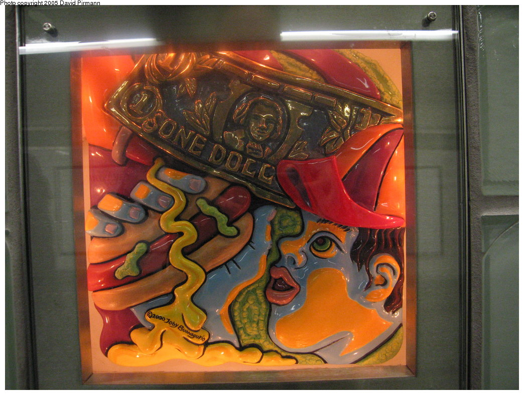 (200k, 1044x788)<br><b>Country:</b> United States<br><b>City:</b> New York<br><b>System:</b> New York City Transit<br><b>Line:</b> IRT West Side Line<br><b>Location:</b> Times Square/42nd Street<br><b>Photo by:</b> David Pirmann<br><b>Date:</b> 9/6/2005<br><b>Artwork:</b> <i>Times Square Times: 35 Times</i>, Toby Buonagurio, 2005<br><b>Viewed (this week/total):</b> 0 / 2447
