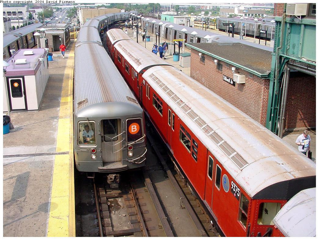 (181k, 1044x788)<br><b>Country:</b> United States<br><b>City:</b> New York<br><b>System:</b> New York City Transit<br><b>Location:</b> Coney Island/Stillwell Avenue<br><b>Route:</b> Fan Trip<br><b>Car:</b> R-36 World's Fair (St. Louis, 1963-64) 9375 <br><b>Photo by:</b> David Pirmann<br><b>Date:</b> 8/27/2000<br><b>Viewed (this week/total):</b> 0 / 8009