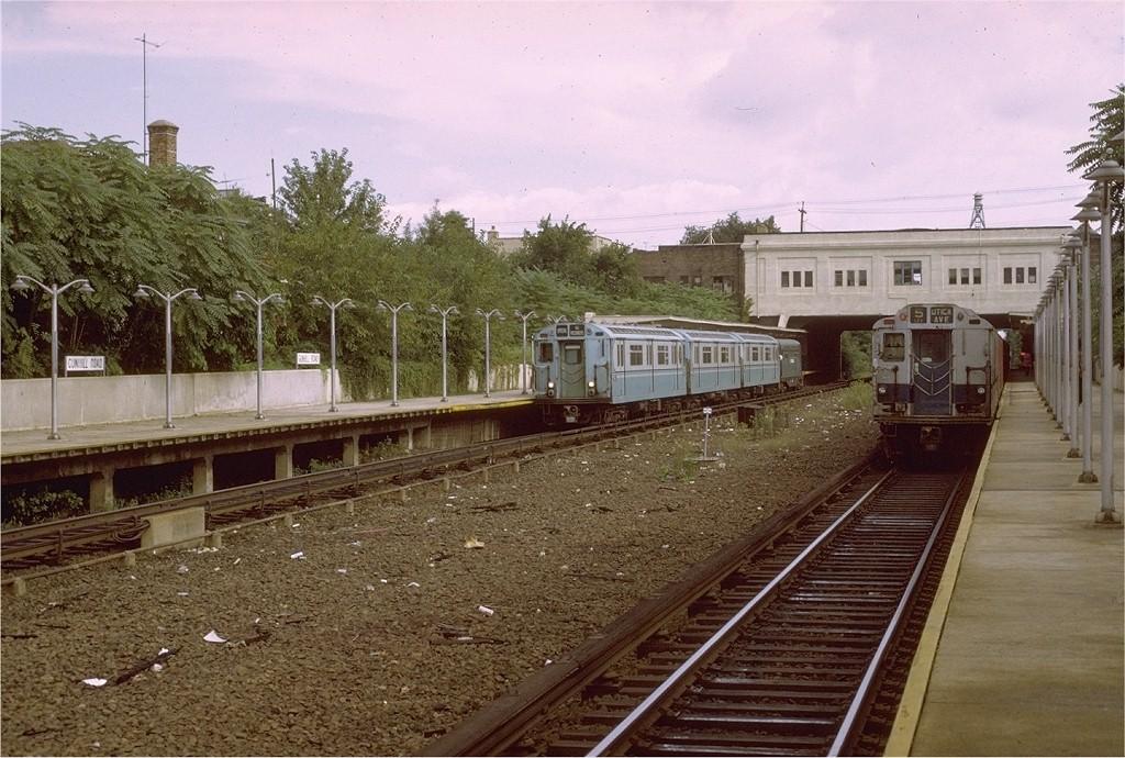 (231k, 1024x690)<br><b>Country:</b> United States<br><b>City:</b> New York<br><b>System:</b> New York City Transit<br><b>Line:</b> IRT Dyre Ave. Line<br><b>Location:</b> Gun Hill Road<br><b>Route:</b> Fan Trip<br><b>Car:</b> R-33 World's Fair (St. Louis, 1963-64) 9327 <br><b>Photo by:</b> Joe Testagrose<br><b>Date:</b> 9/21/1971<br><b>Viewed (this week/total):</b> 0 / 4466