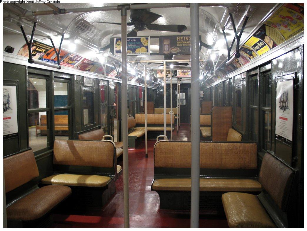 (164k, 1044x788)<br><b>Country:</b> United States<br><b>City:</b> New York<br><b>System:</b> New York City Transit<br><b>Location:</b> New York Transit Museum<br><b>Car:</b> BMT A/B-Type Standard 2204 <br><b>Photo by:</b> Jeffrey Ornstein<br><b>Date:</b> 8/19/2005<br><b>Viewed (this week/total):</b> 0 / 4720