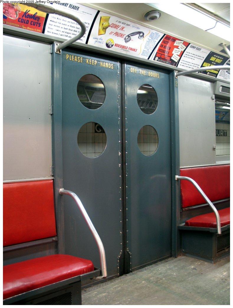 (130k, 790x1047)<br><b>Country:</b> United States<br><b>City:</b> New York<br><b>System:</b> New York City Transit<br><b>Location:</b> New York Transit Museum<br><b>Car:</b> R-15 (American Car & Foundry, 1950) 6239 <br><b>Photo by:</b> Jeffrey Ornstein<br><b>Date:</b> 8/19/2005<br><b>Viewed (this week/total):</b> 6 / 6680