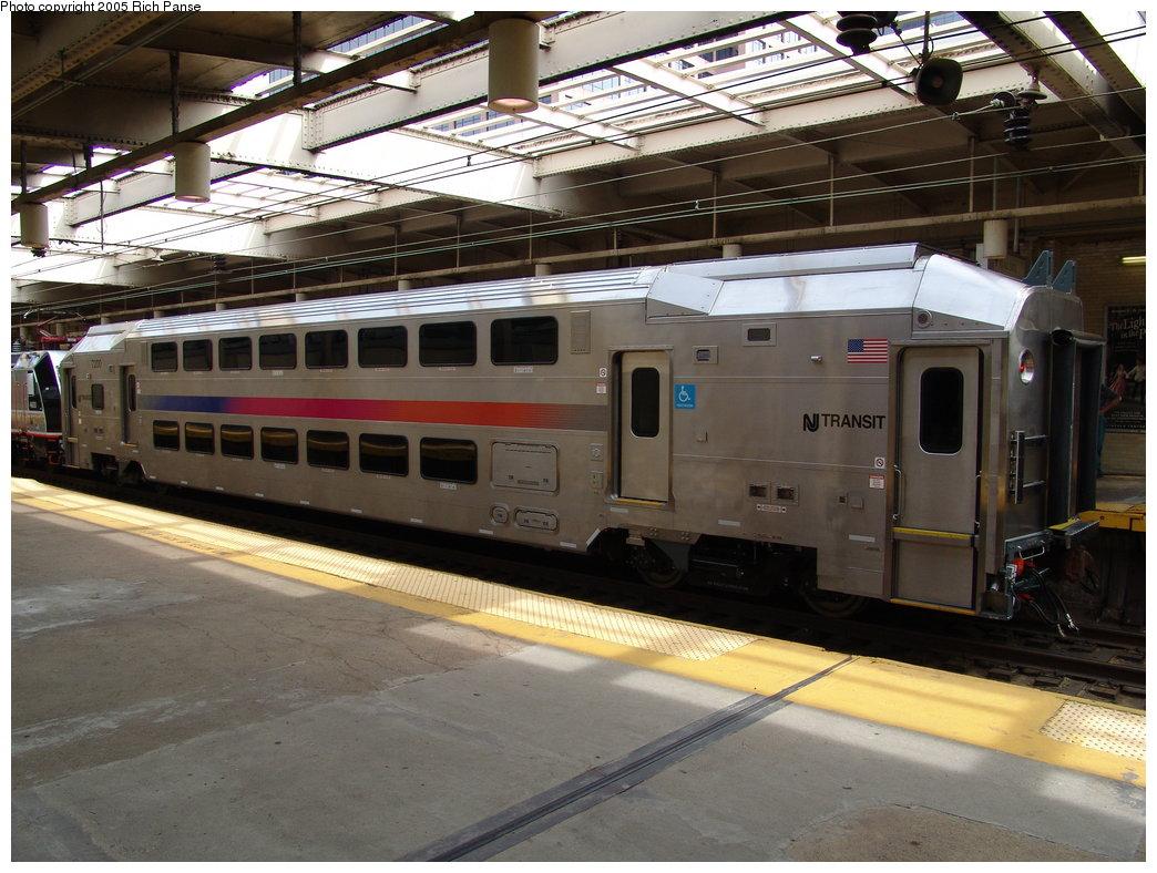 (201k, 1044x788)<br><b>Country:</b> United States<br><b>City:</b> Newark, NJ<br><b>System:</b> Northeast Corridor (NJ) (Amtrak/NJTransit)<br><b>Line:</b> Northeast Corridor<br><b>Location:</b> Penn Station-Newark<br><b>Car:</b> NJT Multilevel Coach 7200 <br><b>Photo by:</b> Richard Panse<br><b>Date:</b> 9/14/2005<br><b>Viewed (this week/total):</b> 2 / 4261