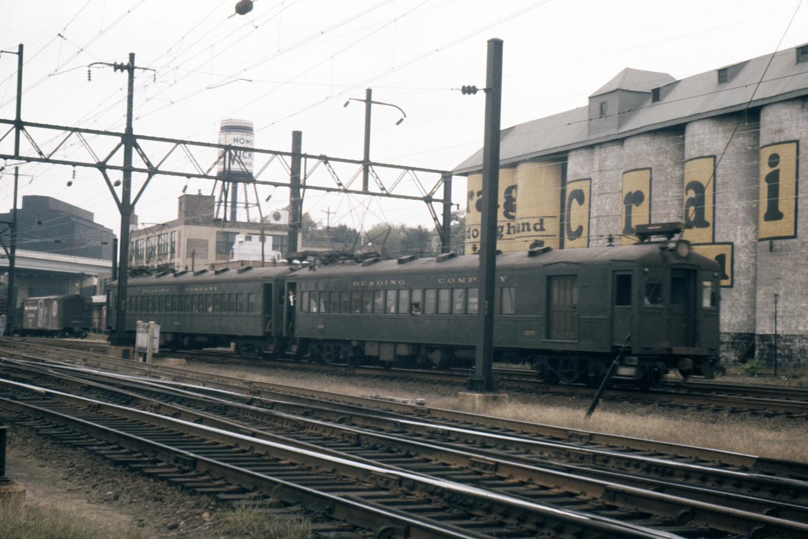 (500k, 1600x1067)<br><b>Country:</b> United States<br><b>City:</b> Philadelphia, PA<br><b>System:</b> SEPTA Regional Rail<br><b>Line:</b> SEPTA Regional Rail-Center City<br><b>Location:</b> Wayne Jct.<br><b>Car:</b> SEPTA Blueliner (Ex-RDG) (1931) 305 <br><b>Photo by:</b> Ed Davis, Sr.<br><b>Collection of:</b> David Pirmann<br><b>Date:</b> 9/1960<br><b>Viewed (this week/total):</b> 0 / 3991