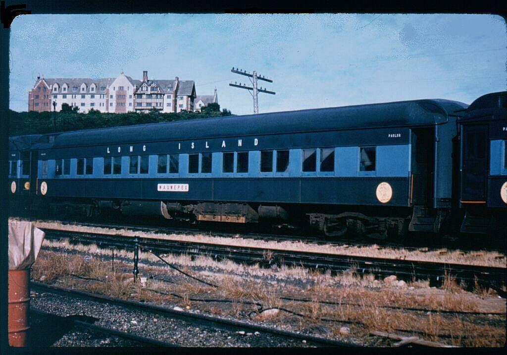 (123k, 1024x716)<br><b>Country:</b> United States<br><b>System:</b> Long Island Rail Road<br><b>Line:</b> LIRR Montauk<br><b>Location:</b> Montauk<br><b>Car:</b> LIRR P74 Coach 2045 <br><b>Photo by:</b> Steve Hoskins<br><b>Notes:</b> 1960s<br><b>Viewed (this week/total):</b> 2 / 3330