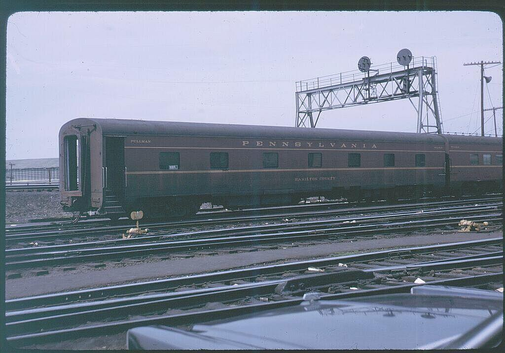 (110k, 1024x716)<br><b>Country:</b> United States<br><b>City:</b> New York<br><b>System:</b> Long Island Rail Road<br><b>Line:</b> LIRR Long Island City<br><b>Location:</b> Richmond Hill<br><b>Car:</b>  Hamilton County <br><b>Photo by:</b> Steve Hoskins<br><b>Notes:</b> 1960s<br><b>Viewed (this week/total):</b> 0 / 3057