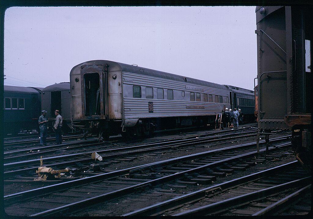 (144k, 1024x716)<br><b>Country:</b> United States<br><b>City:</b> New York<br><b>System:</b> Long Island Rail Road<br><b>Line:</b> LIRR Long Island City<br><b>Location:</b> Richmond Hill<br><b>Car:</b>  Pine Tree State <br><b>Photo by:</b> Steve Hoskins<br><b>Notes:</b> 1960s<br><b>Viewed (this week/total):</b> 1 / 3542