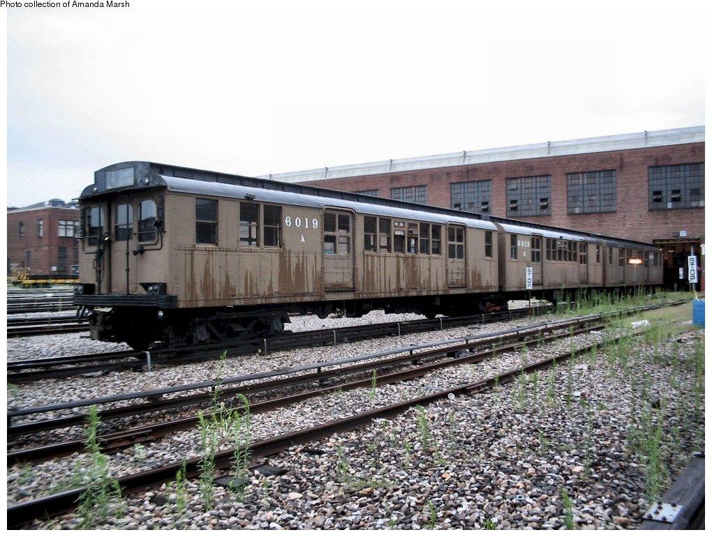 (197k, 1020x770)<br><b>Country:</b> United States<br><b>City:</b> New York<br><b>System:</b> New York City Transit<br><b>Location:</b> 207th Street Yard<br><b>Car:</b> BMT D-Type Triplex 6019 <br><b>Collection of:</b> Amanda Marsh<br><b>Date:</b> 7/18/2004<br><b>Viewed (this week/total):</b> 6 / 5221