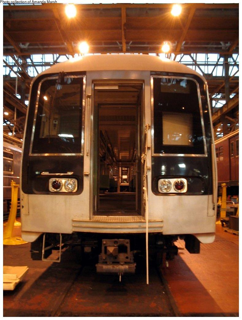 (133k, 788x1044)<br><b>Country:</b> United States<br><b>City:</b> New York<br><b>System:</b> New York City Transit<br><b>Location:</b> 207th Street Shop<br><b>Car:</b> R-110B (Bombardier, 1992) 3001 <br><b>Collection of:</b> Amanda Marsh<br><b>Date:</b> 7/18/2004<br><b>Viewed (this week/total):</b> 3 / 5294