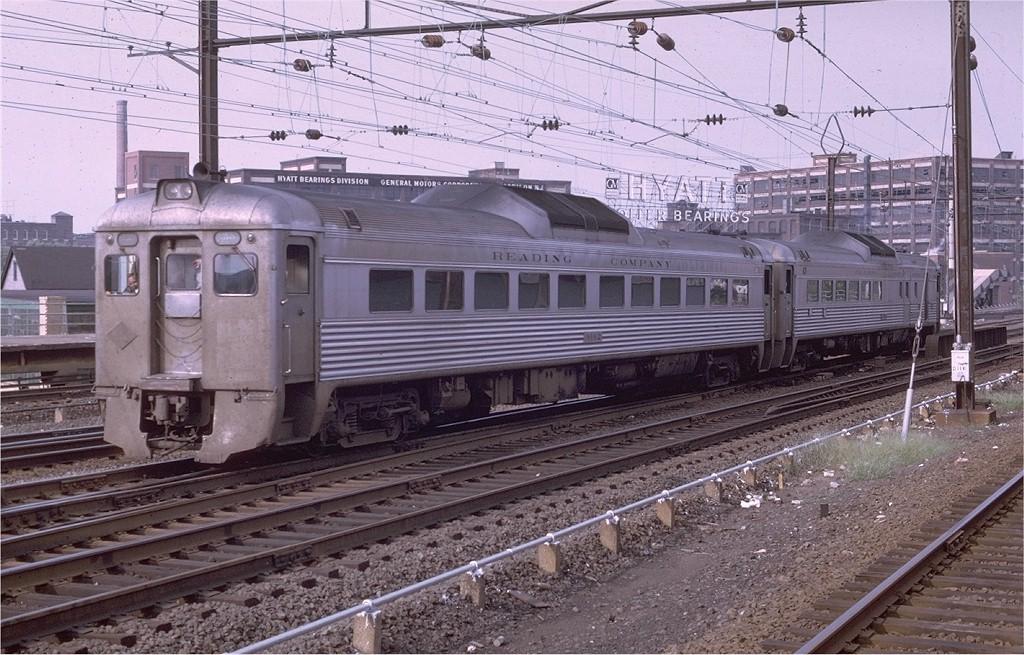 (235k, 1024x655)<br><b>Country:</b> United States<br><b>City:</b> Harrison, NJ<br><b>System:</b> Northeast Corridor (NJ) (Amtrak/NJTransit)<br><b>Line:</b> Northeast Corridor<br><b>Location:</b> Harrison<br><b>Car:</b>  9162 <br><b>Photo by:</b> Joe Testagrose<br><b>Date:</b> 8/18/1969<br><b>Notes:</b> Reading RDC<br><b>Viewed (this week/total):</b> 1 / 3512