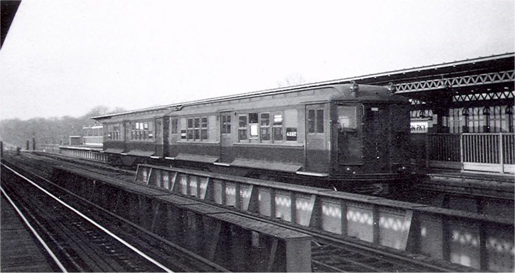 (134k, 1024x544)<br><b>Country:</b> United States<br><b>City:</b> New York<br><b>System:</b> New York City Transit<br><b>Line:</b> BMT Culver Line<br><b>Location:</b> Fort Hamilton Parkway<br><b>Car:</b> Low-V (BMT Modified) 4587 <br><b>Collection of:</b> Joe Testagrose<br><b>Date:</b> 12/4/1959<br><b>Viewed (this week/total):</b> 6 / 5233