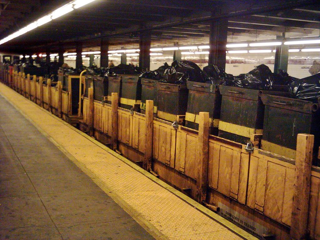 (397k, 1024x768)<br><b>Country:</b> United States<br><b>City:</b> New York<br><b>System:</b> New York City Transit<br><b>Line:</b> IND Crosstown Line<br><b>Location:</b> Church Avenue<br><b>Route:</b> Work Service<br><b>Car:</b> R-58 Refuse Collector Flat (Fuji, 1956)  <br><b>Photo by:</b> Michael Hodurski<br><b>Date:</b> 1/16/2006<br><b>Viewed (this week/total):</b> 0 / 3989