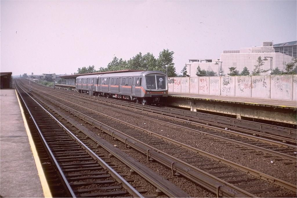 (236k, 1024x682)<br><b>Country:</b> United States<br><b>City:</b> New York<br><b>System:</b> New York City Transit<br><b>Line:</b> IND Rockaway Line<br><b>Location:</b> Aqueduct/North Conduit Avenue<br><b>Car:</b> SOAC  <br><b>Photo by:</b> Doug Grotjahn<br><b>Collection of:</b> Joe Testagrose<br><b>Date:</b> 7/4/1974<br><b>Viewed (this week/total):</b> 1 / 4470