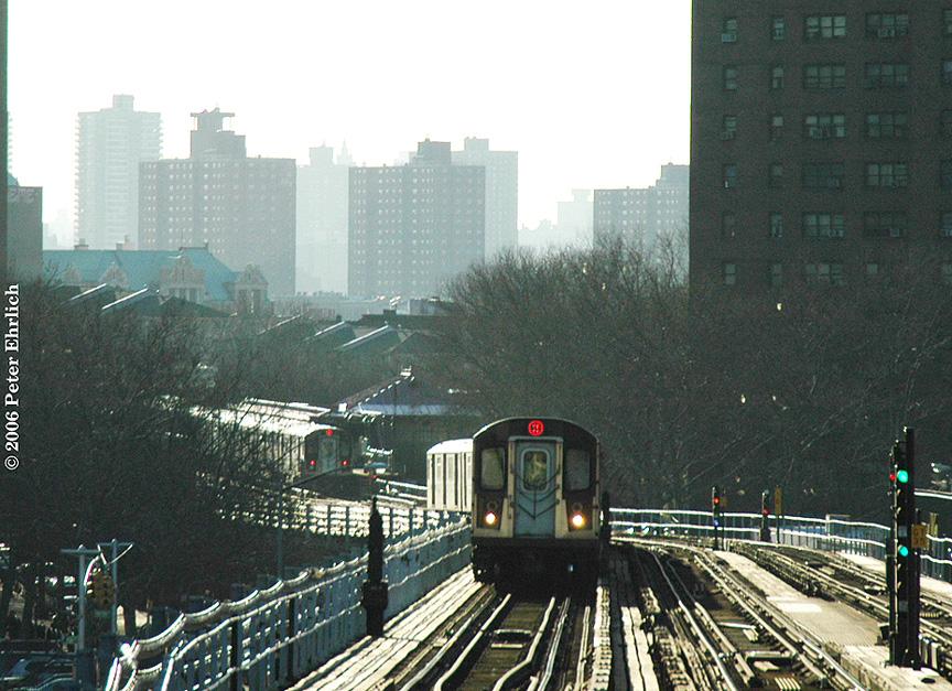 (287k, 864x627)<br><b>Country:</b> United States<br><b>City:</b> New York<br><b>System:</b> New York City Transit<br><b>Line:</b> IRT White Plains Road Line<br><b>Location:</b> Prospect Avenue<br><b>Car:</b> R-142 (Primary Order, Bombardier, 1999-2002) 6475 <br><b>Photo by:</b> Peter Ehrlich<br><b>Date:</b> 1/24/2006<br><b>Viewed (this week/total):</b> 0 / 5633