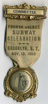 (33k, 153x334)<br><b>Country:</b> United States<br><b>City:</b> New York<br><b>System:</b> New York City Transit<br><b>Collection of:</b> George Cuhaj<br><b>Notes:</b> Fourth Avenue (Brooklyn) subway celebration, Nov. 13, 1909.<br><b>Viewed (this week/total):</b> 4 / 4349