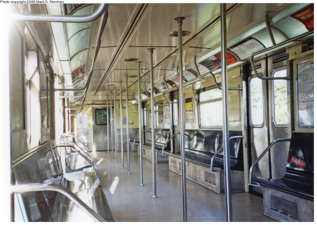 (280k, 1044x742)<br><b>Country:</b> United States<br><b>City:</b> New York<br><b>System:</b> New York City Transit<br><b>Car:</b> R-32 (GE Rebuild) 3595 <br><b>Photo by:</b> Mark S. Feinman<br><b>Date:</b> 1993<br><b>Viewed (this week/total):</b> 20 / 24679