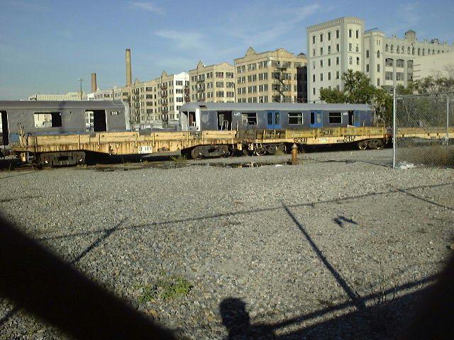 (88k, 640x480)<br><b>Country:</b> United States<br><b>City:</b> New York<br><b>System:</b> New York City Transit<br><b>Line:</b> South Brooklyn Railway<br><b>Location:</b> SBK Yard (2nd Ave at 38th St.) (SBK)<br><b>Car:</b> R-42 (St. Louis, 1969-1970) 4685 <br><b>Photo by:</b> Trevor Logan<br><b>Date:</b> 9/2000<br><b>Notes:</b> Bush Terminal Scrapyard<br><b>Viewed (this week/total):</b> 4 / 14491