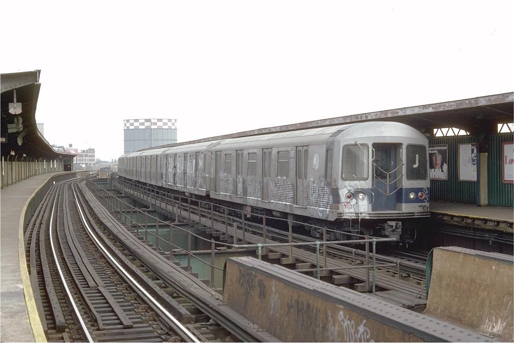 (165k, 1024x684)<br><b>Country:</b> United States<br><b>City:</b> New York<br><b>System:</b> New York City Transit<br><b>Line:</b> BMT Nassau Street-Jamaica Line<br><b>Location:</b> Queens Boulevard (Demolished)<br><b>Route:</b> J<br><b>Car:</b> R-42 (St. Louis, 1969-1970) 4892 <br><b>Photo by:</b> Doug Grotjahn<br><b>Collection of:</b> Joe Testagrose<br><b>Date:</b> 2/16/1976<br><b>Viewed (this week/total):</b> 7 / 6874