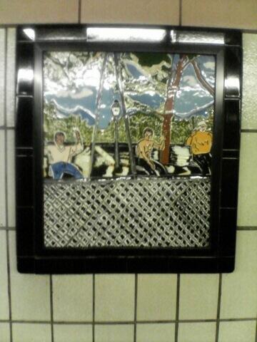 (59k, 360x480)<br><b>Country:</b> United States<br><b>City:</b> New York<br><b>System:</b> New York City Transit<br><b>Line:</b> IRT West Side Line<br><b>Location:</b> 86th Street<br><b>Photo by:</b> John Barnes<br><b>Date:</b> 7/2/2006<br><b>Artwork:</b> <i>Westside Views</i>, Nitza Tufino, 1989<br><b>Viewed (this week/total):</b> 0 / 2253