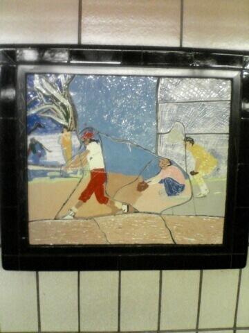 (52k, 360x480)<br><b>Country:</b> United States<br><b>City:</b> New York<br><b>System:</b> New York City Transit<br><b>Line:</b> IRT West Side Line<br><b>Location:</b> 86th Street<br><b>Photo by:</b> John Barnes<br><b>Date:</b> 7/2/2006<br><b>Artwork:</b> <i>Westside Views</i>, Nitza Tufino, 1989<br><b>Viewed (this week/total):</b> 1 / 2334